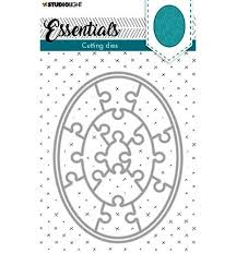 Studio Light Essentials Cutting Dies- Puzzle Oval