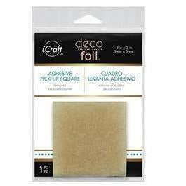 Deco Foil Adhesive Pick-Up Square