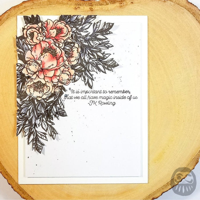Conservatory of Quotes - 4x6 Stamp
