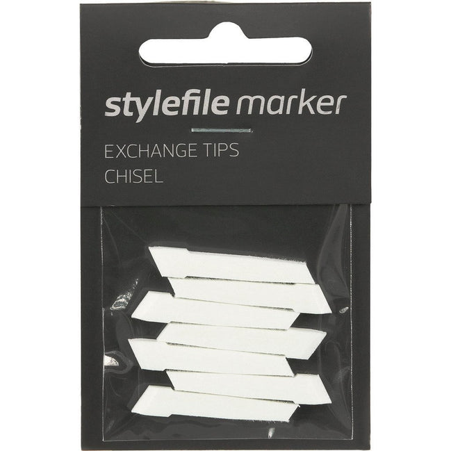 Stylefile Marker - Replacement Tips - Chisel
