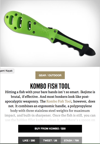 Uncrate the Kombo Fish Tool