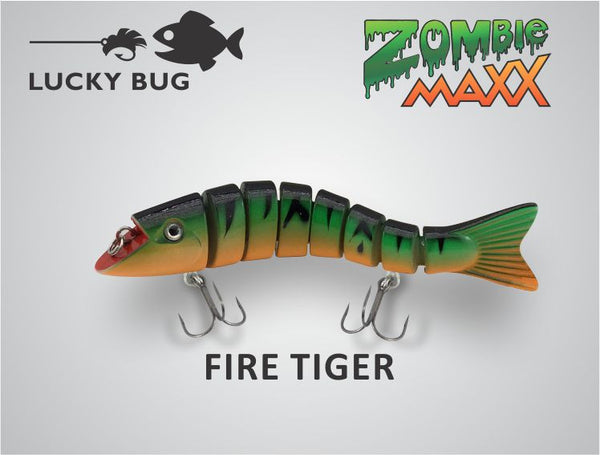 Zombie Maxx - Fire Tiger