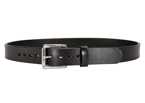 BLACK SMOOTH BULLHIDE GUN BELT