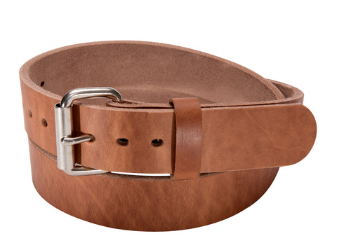 BULLBELT® NATURAL SMOOTH BULLHIDE GUN BELT