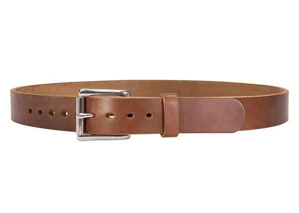 CARAMEL SMOOTH BULLHIDE GUN BELT