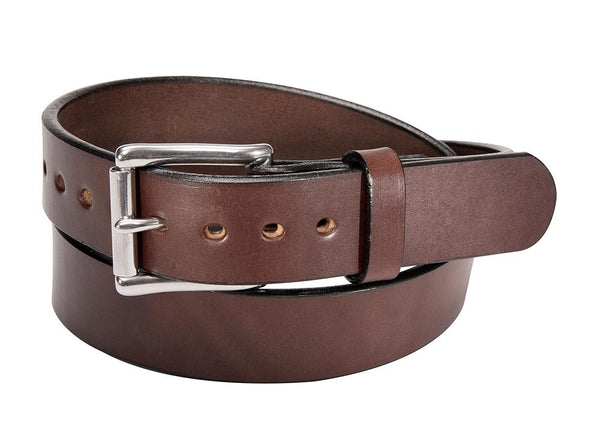 BROWN SMOOTH BULLHIDE GUN BELT