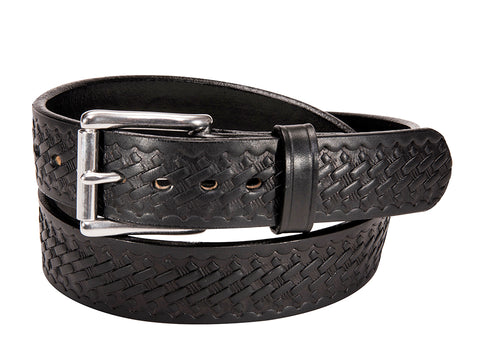 BULLBELT® BASKETWEAVE BULL HIDE GUN BELT