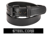 BULLBELT® BULLHIDE ULTIMATE THICKNESS TACTICAL STEEL CORE GUN BELT