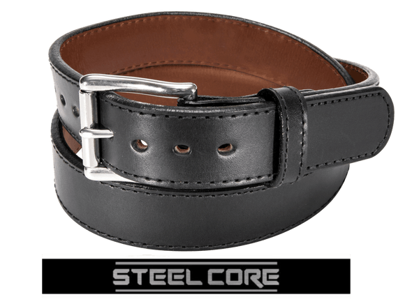 BULLBELT® BULLHIDE ULTIMATE THICKNESS STEEL CORE GUN BELT