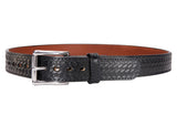 BULLBELT® BULLHIDE ULTIMATE THICKNESS BASKETWEAVE STEEL CORE GUN BELT