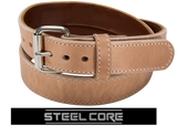 BULLBELT® BULLHIDE ULTIMATE THICKNESS NATURAL STEEL CORE GUNBELT
