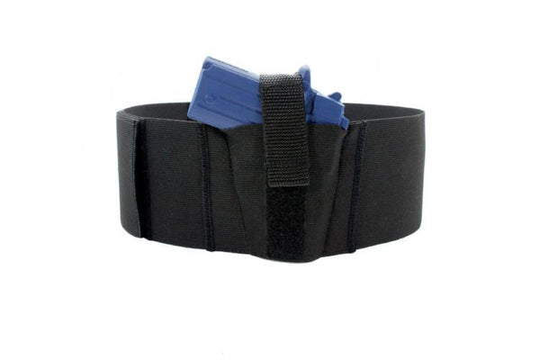4 Inch Wide One Gun Belly Band Holster