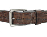 HORNBACK CROCODILE GUN BELT