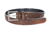 UNIQUE ELEPHANT HIDE GUN BELT