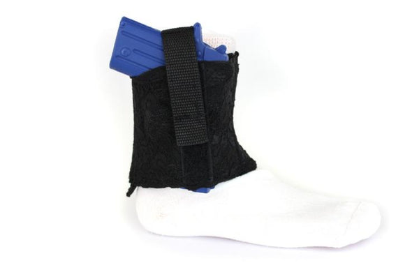 Lace Women's Ankle Holster with Padded Neoprene