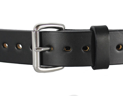 Smooth Bull Hide Gun Belt
