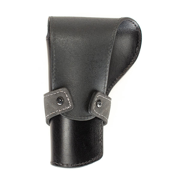 Gray Elephant Banded Western Revolver Holster