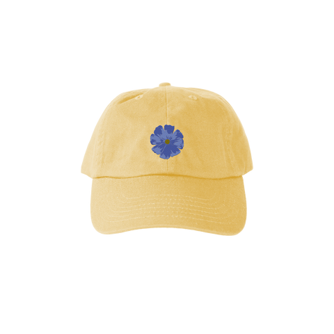 ME Floral Dad Hat - Banana