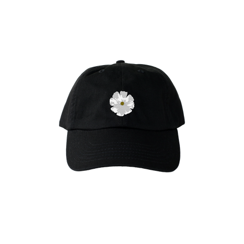 ME Floral Dad Hat - Black