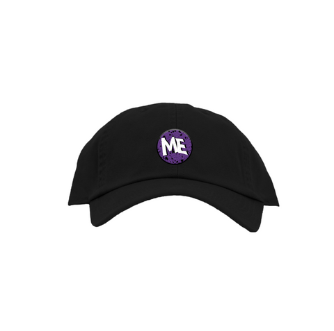 ME Wavy Dad Hat - Black