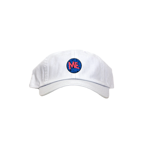 ME Wavy Dad Hat - White