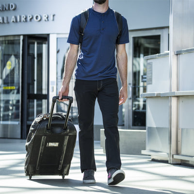 Thunderbolt Sportswear Baseline Henley - 100% Merino 18.5 Micron 170GSM with roller bag