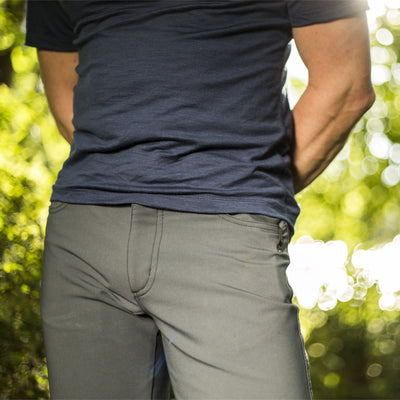 Thunderbolt Sportswear Original Jeans - Mark II Alloy with Schoeller® Dryskin and Nanosphere®, waist view