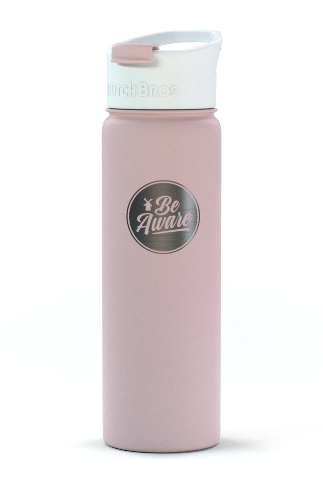 Dutch Flow Insulated Bottle - Be Aware