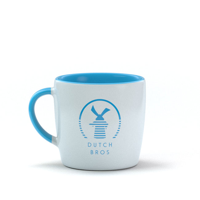 Windmill Rise Mug - Blue