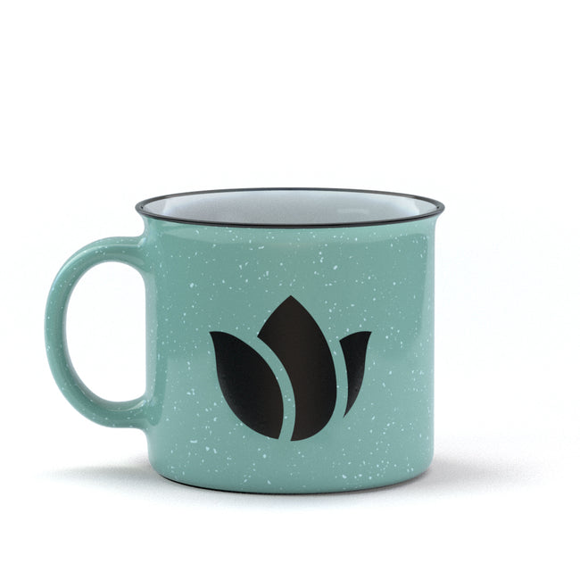 Tulip Ceramic Mug - Teal