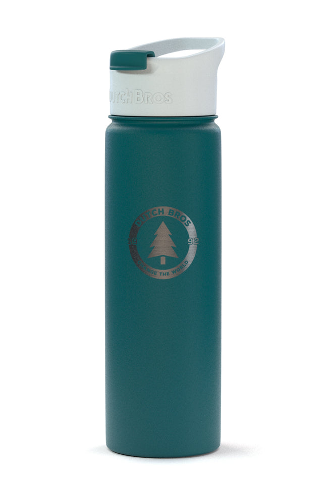 Dutch Flow Insulated Bottle - Evergreen