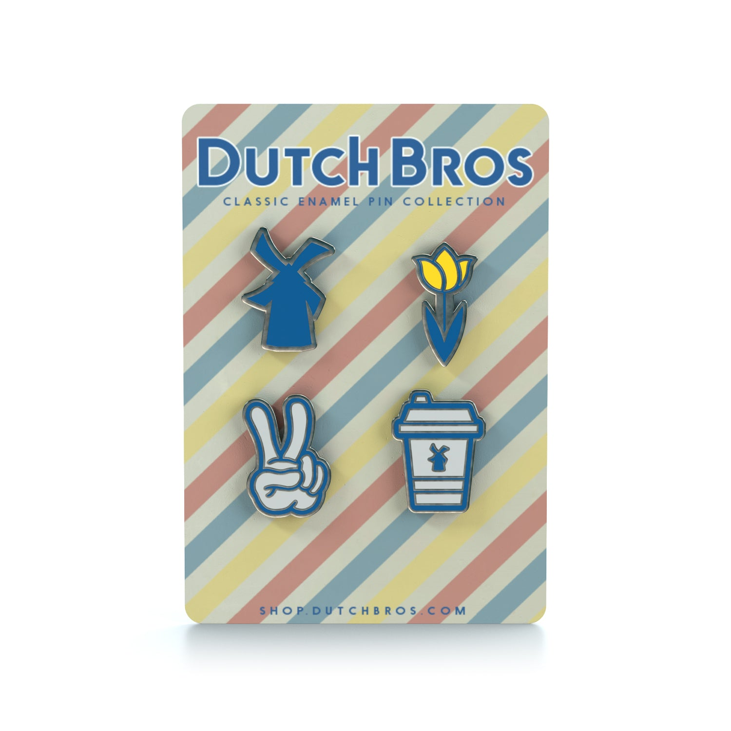 Dutch Bros Pin Pack