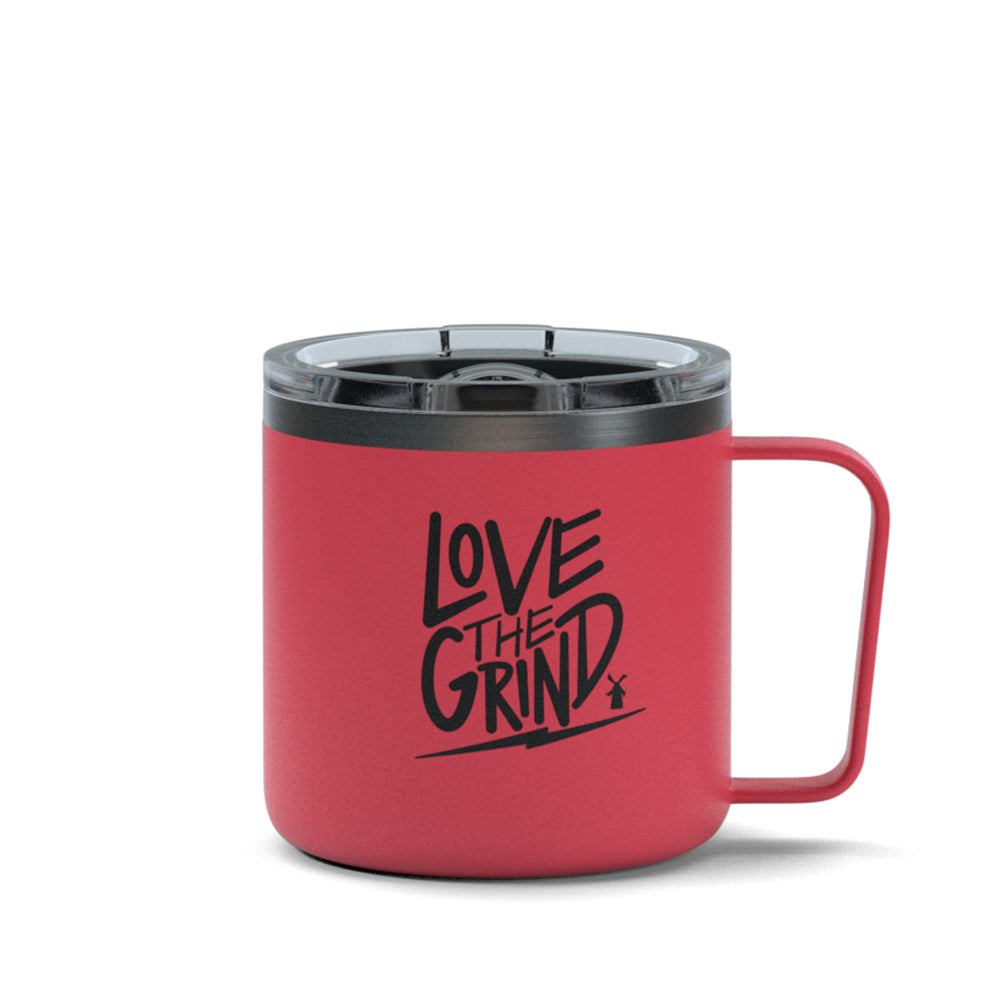 Love The Grind Stainless Steel Mug - Pink