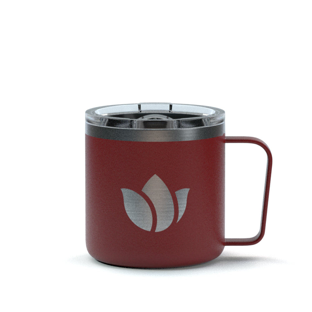Tulip Stainless Steel Mug - Red