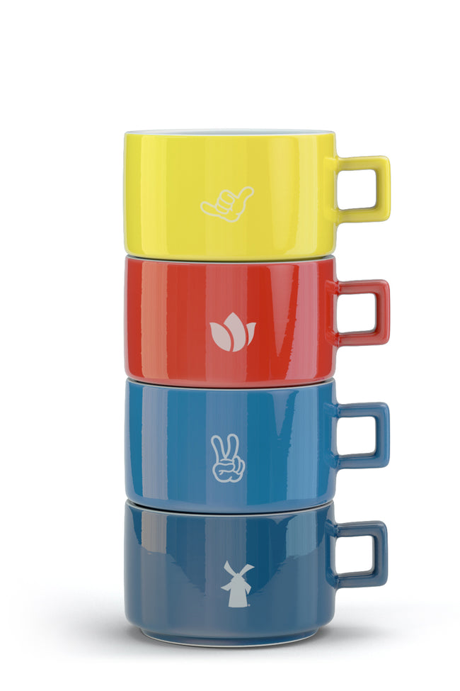 Dutch Stackable Mugs