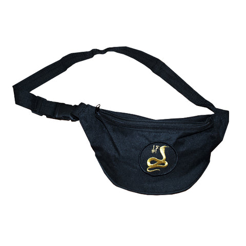 Gold Cobra Fanny Pack