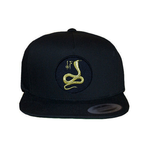 Golden Cobra Snapback