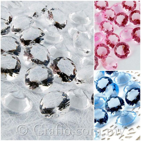 Acrylic Diamonds 12mm