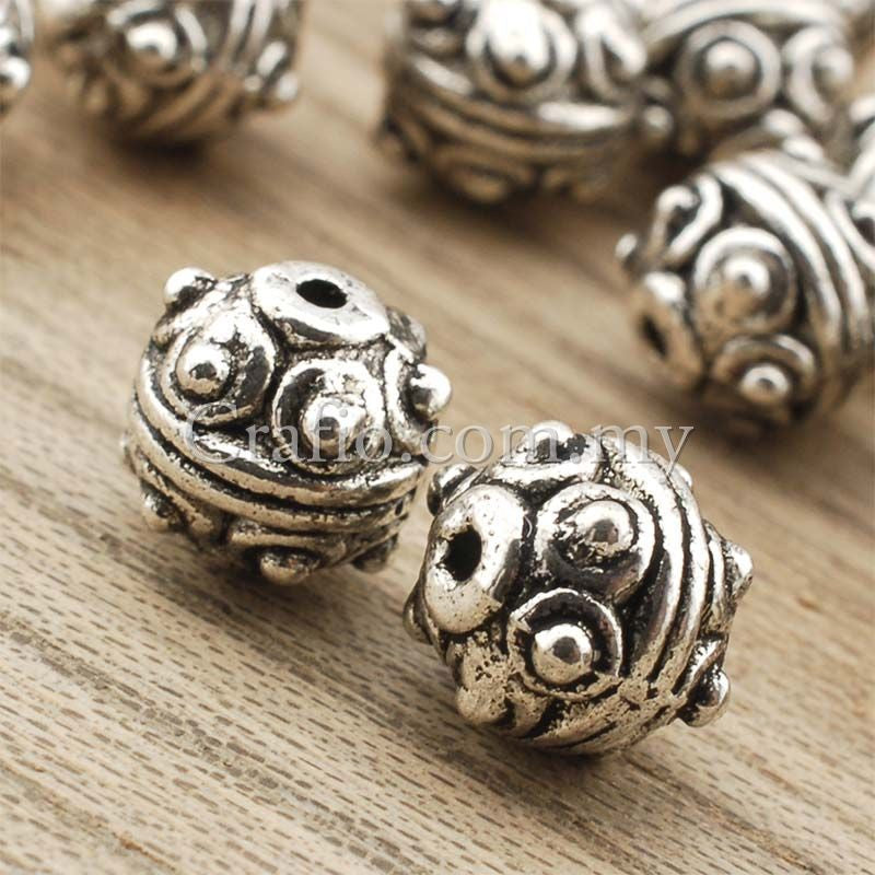 Tibetan Silver Spacer Beads (T1835)