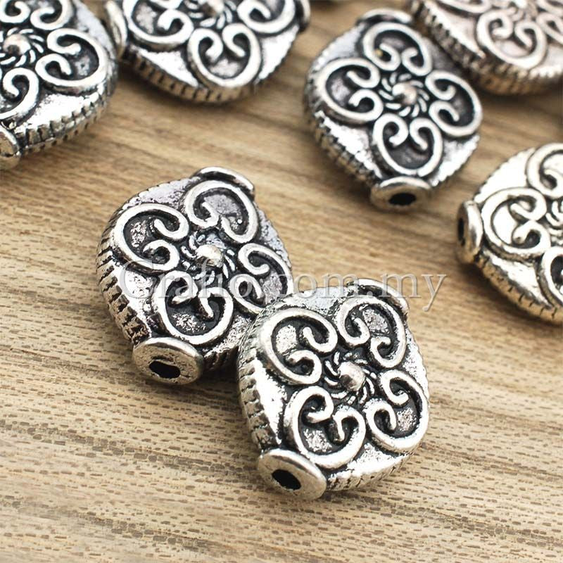 Tibetan Silver Spacer Beads (T1836)