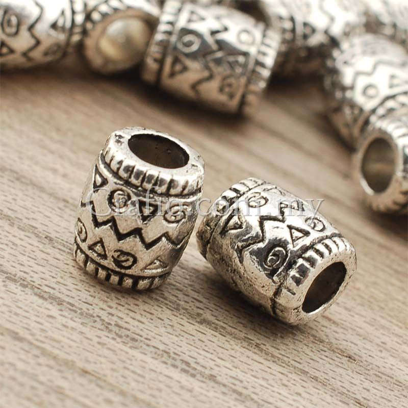 Tibetan Silver Spacer Beads (T756)