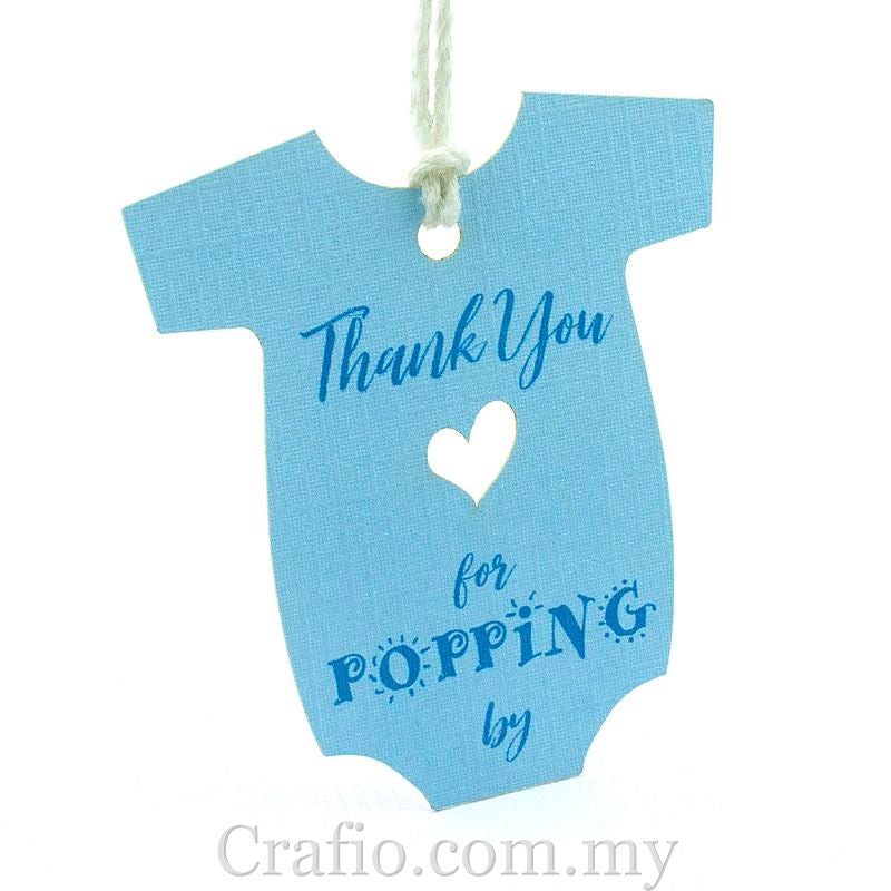 Baby Onesie Baby Shower Thank You Gift Tags Crafio