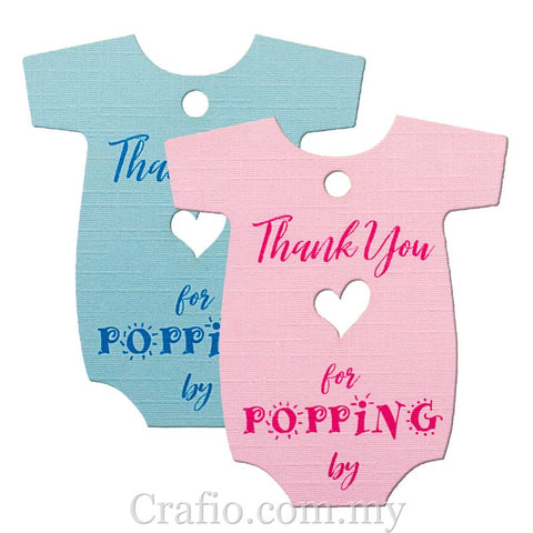 Baby Onesie Baby Shower Thank you Gift Tags