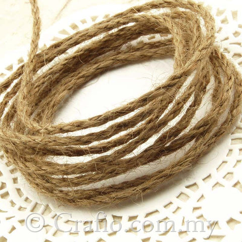 2 mm Natural Jute Burlap String