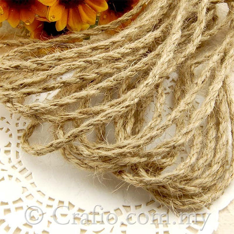 3 mm Natural Jute Burlap String
