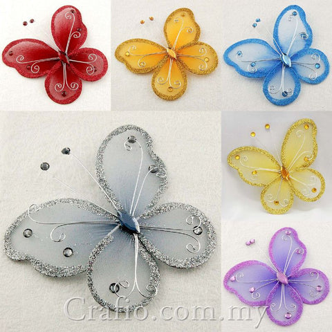 11cm Stocking Butterflies