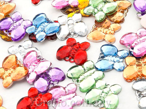 15 mm Butterfly Jewel Rhinestone
