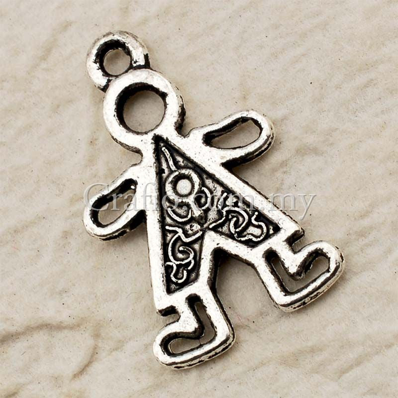 gold boy kids solid for jewelry necklace charm gift pin pendant yellow little