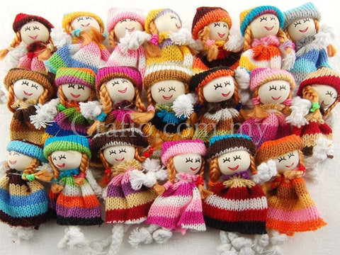Miniature Fabric Dolls