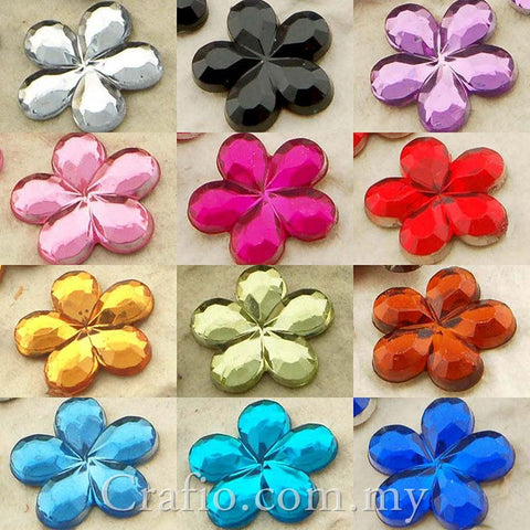 10 mm Jewels Flower